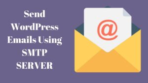 SMTP i WordPress